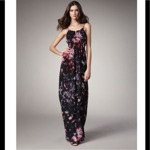 Theory Musea Exploding Flowers Maxi Dress NWT